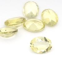 Лимонный кварц овал средний вес 1.11 карат, размер 8х6мм (lquartz0034)