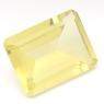 Лимонный кварц октагон средний вес 19.1 карат, размер 20х15мм (lquartz0038)