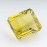 Лимонный кварц октагон, вес 55.06 карат, размер 21.6х19.9мм (lquartz0041)