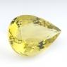 Лимонный кварц груша, вес 52.45 карат, размер 31.7х22.3мм (lquartz0042)