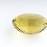 Лимонный кварц овал, вес 61.39 карат, размер 28х22.4мм (lquartz0043)