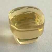 Лимонный кварц формы гриб, вес 7.48 карат, размер 10х10мм (lquartz0057)