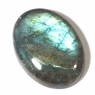 Лунный камень (лабрадор) овал вес 18.76 карат, размер 22.09х16мм (moon0049)