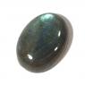 Лунный камень (лабрадор) овал вес 11.67 карат, размер 17.9х13.15мм (moon0052)