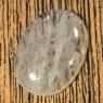 Лунный камень (беломорит) овал вес 45.88 карат, размер 32.4х23.5мм (moon0055)