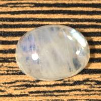 Лунный камень (беломорит) овал вес 17.02 карат, размер 18.8х14мм (moon0065)