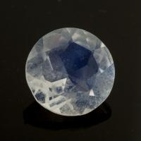 Ограненный лунный формы круг, вес 1.46 карат, размер 8х8мм (moon0101)