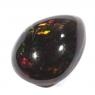 Чёрный эфиопский опал груша вес 1.98 карат, размер 11.5х8.6мм (opal0267)