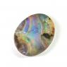 Австралийский болдер-опал овал вес 8.17 карат, размер 16.9х13.5мм (opal0281)