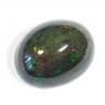 Черный эфиопский опал овал вес 4.76 карат, размер 14х11.15мм (opal0432)
