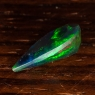 Черный эфиопский опал груша вес 1.51 карат, размер 13х7.5мм (opal0494)