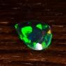 Черный эфиопский опал груша вес 1.14 карат, размер 10.5х6.6мм (opal0495)