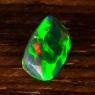 Черный эфиопский опал антик вес 1.96 карат, размер 11.4х6.8мм (opal0502)