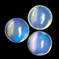 Комплект опалов формы круг, общий вес 7.45 карат, размер 10х10мм (opal0548)