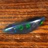 Черный эфиопский опал маркиз вес 1.93 карат, размер 16х7.1мм (opal0574)