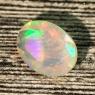 Ограненный эфиопский опал овал вес 1.64 карат, размер 11х8.1мм (opal0598)