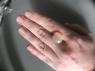 Эфиопский опал кабошон круг вес 5.16 карат, размер 15.7х15.3мм (opal0642)