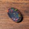 Черный эфиопский опал овал вес 1.25 карат, размер 11.9х7.6мм (opal0687)