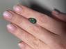 Черный эфиопский опал груша вес 1.58 карат, размер 13х7.6мм (opal0690)