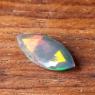 Черный эфиопский опал маркиз вес 0.94 карат, размер 13.4х5.8мм (opal0696)