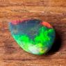 Черный эфиопский опал груша вес 1.31 карат, размер 11.4х7.7мм (opal0697)