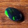 Черный эфиопский опал овал вес 1.18 карат, размер 9.7х7.5мм (opal0705)