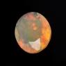 Ограненный эфиопский опал овал вес 3.05 карат, размер 12.7х10.6мм (opal0752)