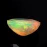 Ограненный эфиопский опал овал вес 3.87 карат, размер 13.5х10.2мм (opal0753)
