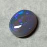 Черный австралийский опал овал вес 2 карат, размер 9.2х7.8мм (opal0822)
