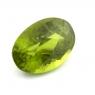 Хризолит (перидот) формы овал, вес 7.17 карат, размер 13.9х9.9мм (perydot0034)