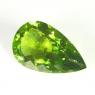 Хризолит (перидот) груша вес 23.05 карат, размер 26.6х15.9мм (perydot0064)