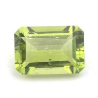 Хризолит (перидот) октагон вес 2.92 карат, размер 10.3х7.1мм (perydot0075)