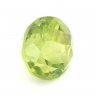 Хризолит (оливин, перидот) формы круг, вес 4.95 карат, размер 9.9х9.9мм (perydot0089)