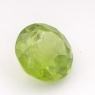 Хризолит (оливин, перидот) формы круг, вес 3.69 карат, размер 9.8х9.7мм (perydot0090)