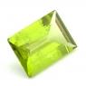 Хризолит (перидот) формы багет, вес 4.98 карат, размер 13х9.1мм (perydot0100)