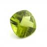 Хризолит (перидот) формы антик, вес 3.5 карат, размер 10.1х10.1мм (perydot0111)