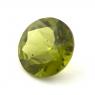 Хризолит (перидот) формы круг, вес 4.91 карат, размер 11.2х11.2мм (perydot0114)