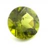 Хризолит (перидот) формы круг, вес 6.08 карат, размер 12х12мм (perydot0115)