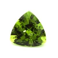 Хризолит (перидот) формы триллион, вес 5.06 карат, размер 11.2х11мм (perydot0121)