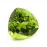 Хризолит (перидот) формы триллион, вес 6.22 карат, размер 12х11.9мм (perydot0123)