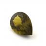 Хризолит (перидот) формы груша, вес 4.35 карат, размер 12.8х9.1мм (perydot0127)