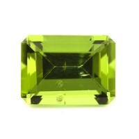 Хризолит (перидот) формы октагон, вес 5.48 карат, размер 12х8.8мм (perydot0130)