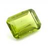 Хризолит (перидот) формы октагон, вес 4.7 карат, размер 12х8.6мм (perydot0132)