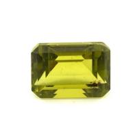 Хризолит (перидот) формы октагон, вес 4.24 карат, размер 10.2х7.3мм (perydot0133)