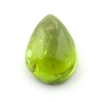 Хризолит кабошон груша вес 9.4 карат, размер 15.7х11.3мм (perydot0159)