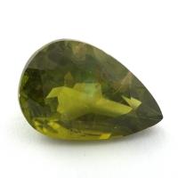 Хризолит (перидот) груша, вес 14.09 карат, размер 18.7х12.6мм (perydot0165)