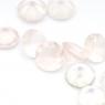 Розовый кварц круг средний вес 0.84 карат, размер 6х6мм (pquartz0075)
