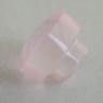 Розовый кварц российской огранки формы гриб, вес 6.23 карат, размер 10.2х10.2мм (pquartz0091)