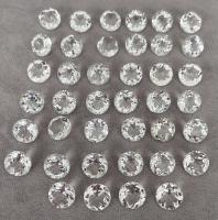 Горный хрусталь груша средний вес 3.76 карат, размер 14х9мм (quartz0019)
