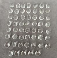 Горный хрусталь овал средний вес 2.38 карат, размер 10х8мм (quartz0020)